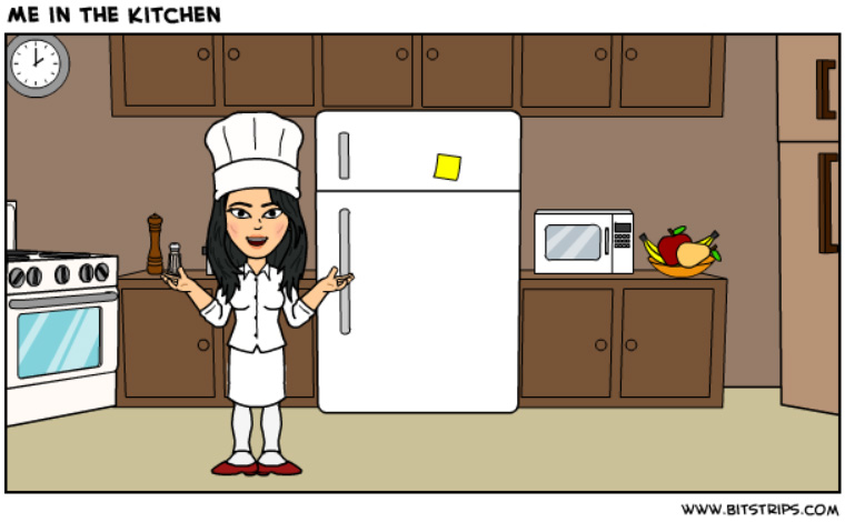 Me in the Kitchen